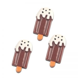 Chocolate Ice Cream Resin Embellishment