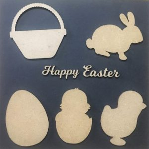 MDF Easter Theme Cut Outs