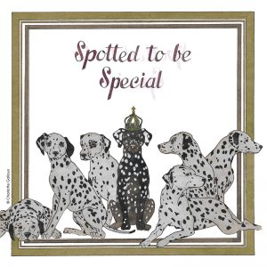 Spotted To Be Special Decoupage Napkin