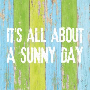 Its All About A Sunny Day Decoupage Napkin