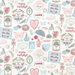 Love Icons Decoupage Napkin