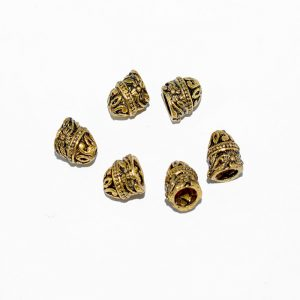 Antique Gold Cone Shape Beads