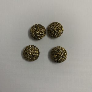 Antique Gold Circle Shape Beads