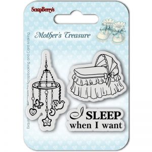 ScrapBerry's Sleep When I Want Clear Stamp
