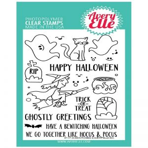 Avery Elle Clear Stamps - Bewitching