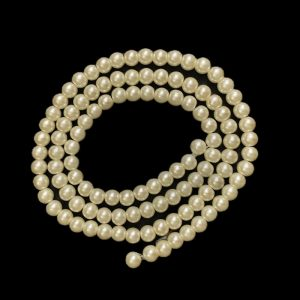 Pearl Finish Round Beads