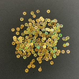 Double Shade Gold Round Sequins