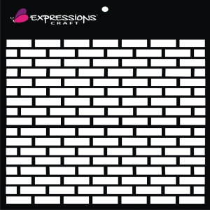 Expressions Craft Stencil - Bricks