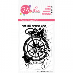 Mudra Clear Stamp - Wander Grungy