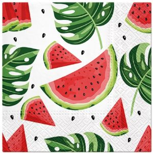 Tasty Watermelons Decoupage Napkin