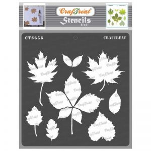 CrafTreat Stencil - Autumn Leaves
