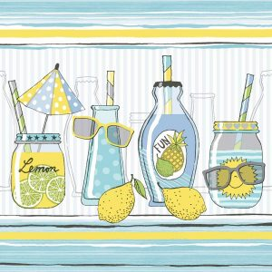 Summer Fun Decoupage Napkin
