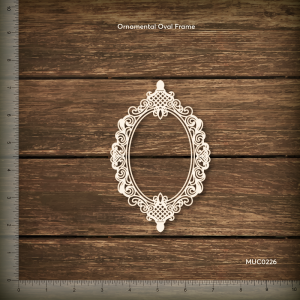 Ornamental Oval Frame Mudra Chipzeb