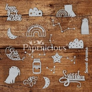 Dream Big Papericious Theme Chippis