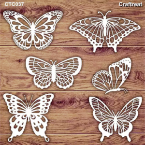 Craftreat Chiplets - Lovely Butterflies