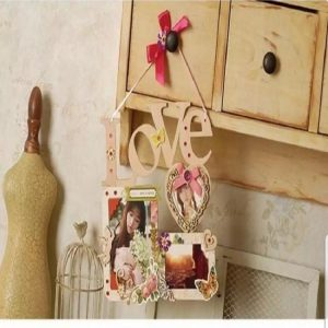 DIY Words Photo Frame - Love
