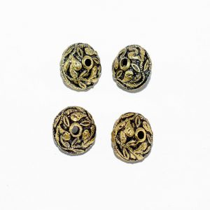 Antique Gold Round Shape Beads