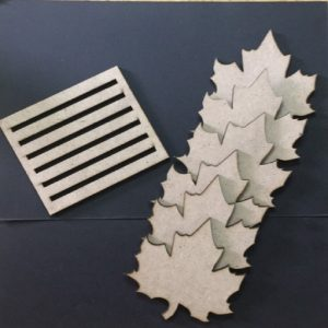 MDF Maple Leaf Coasters