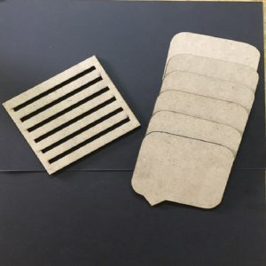 MDF Rectangle Call Out Coasters