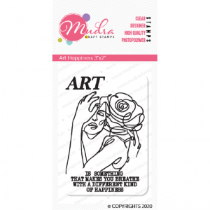 Mudra Clear Stamp - Art Happiness