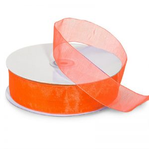 Organza Ribbon - Orange