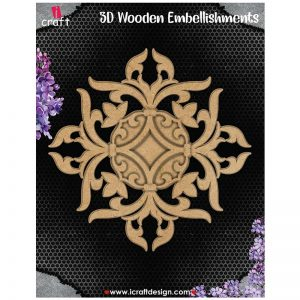 iCraft - 3D Layered Wooden Embellishments