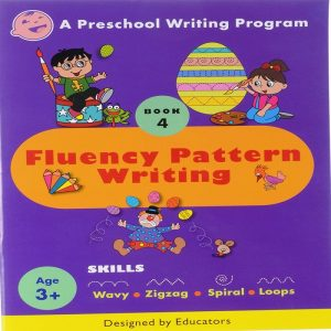 Preschool Writing Fluency Pattern Writing 4 By Jasmine Bheda