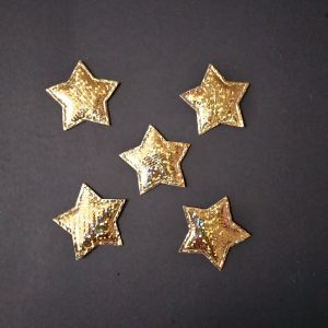 Gold Star Applique