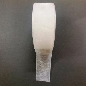 White Organza Ribbon