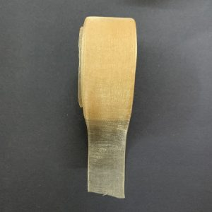 Light Gold Organza Ribbon