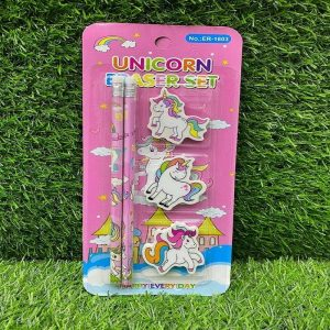 Unicorn Pencils With Erasers