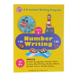 Preschool Writing Alphabet Pattern Writing 8 by Jasmine Bheda
