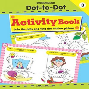 Dot to Dot Activity Book by Dreamland