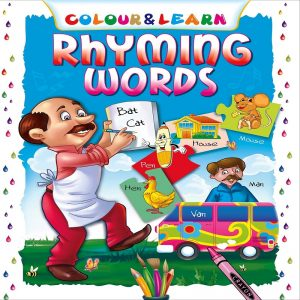 Colour Learn Rhyming Words by  Manoj Pub. Ed. Board