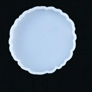 Silicon Mould - Agate Round Coaster 3.7 Inches