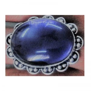 Adjustable Ring - Purple