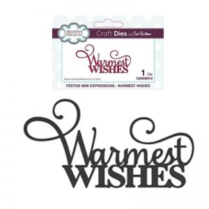 Creative Expressions Festive Craft Dies By Sue Wilson - Warmest Wishes
