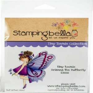 Stamping Bella Cling Stamps - Brianna The Butterfly